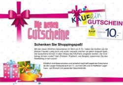 Hollabrunn - KAUFein Gutscheine NEU!